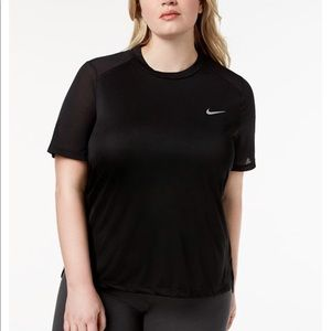 NWT plus size Nike Running top